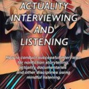New Book on Interviewing and Listening by James R Martin